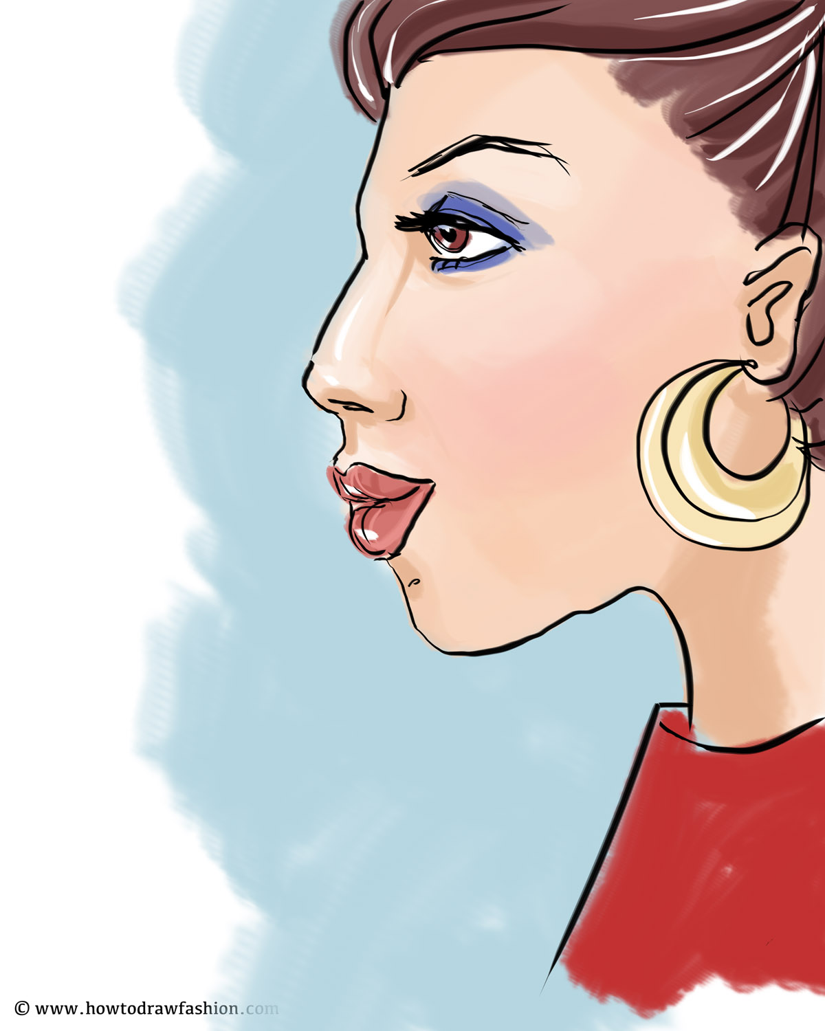 How To Draw Fashion Fashion Profile