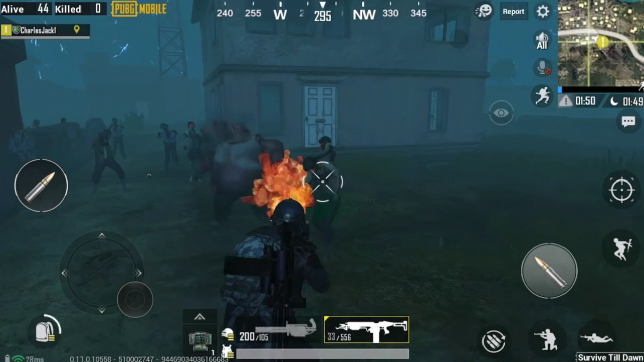 50MB) Download PUBG Mobile Game Android mobile Phone highly