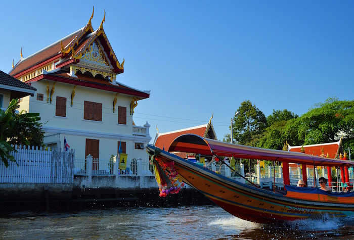 private river cruise in bangkok