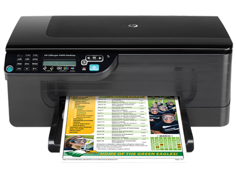 HP Officejet 4500 All In One Printer Is Supports A Variety Of Media Types Such As Plain Brochure Or Inkjet Paper Photo Envelopes