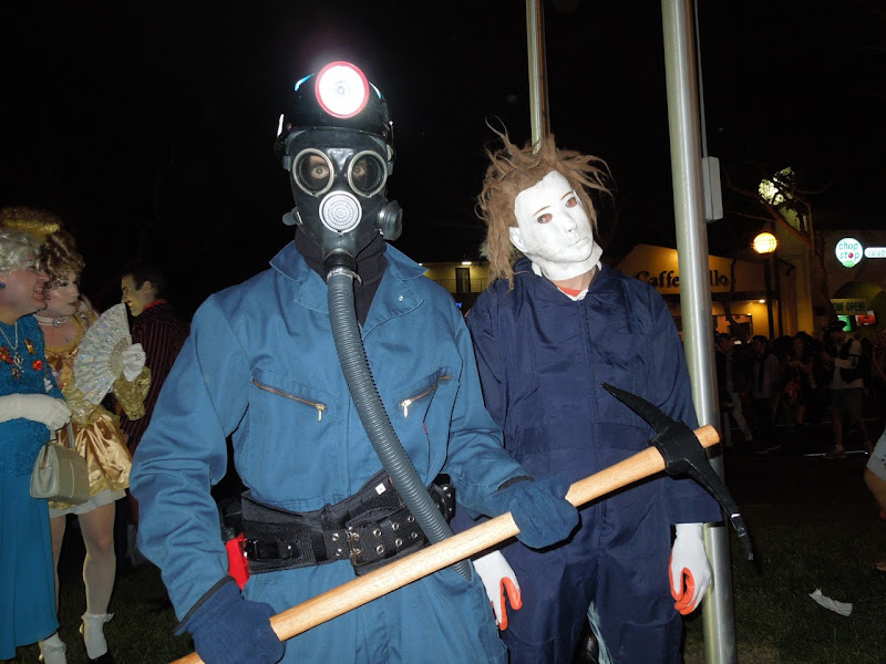 West Hollywood Halloween Carnaval horror costumes