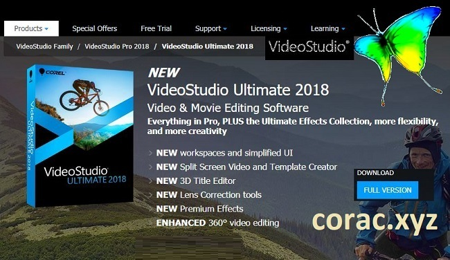 Corel VideoStudio X10 full crack