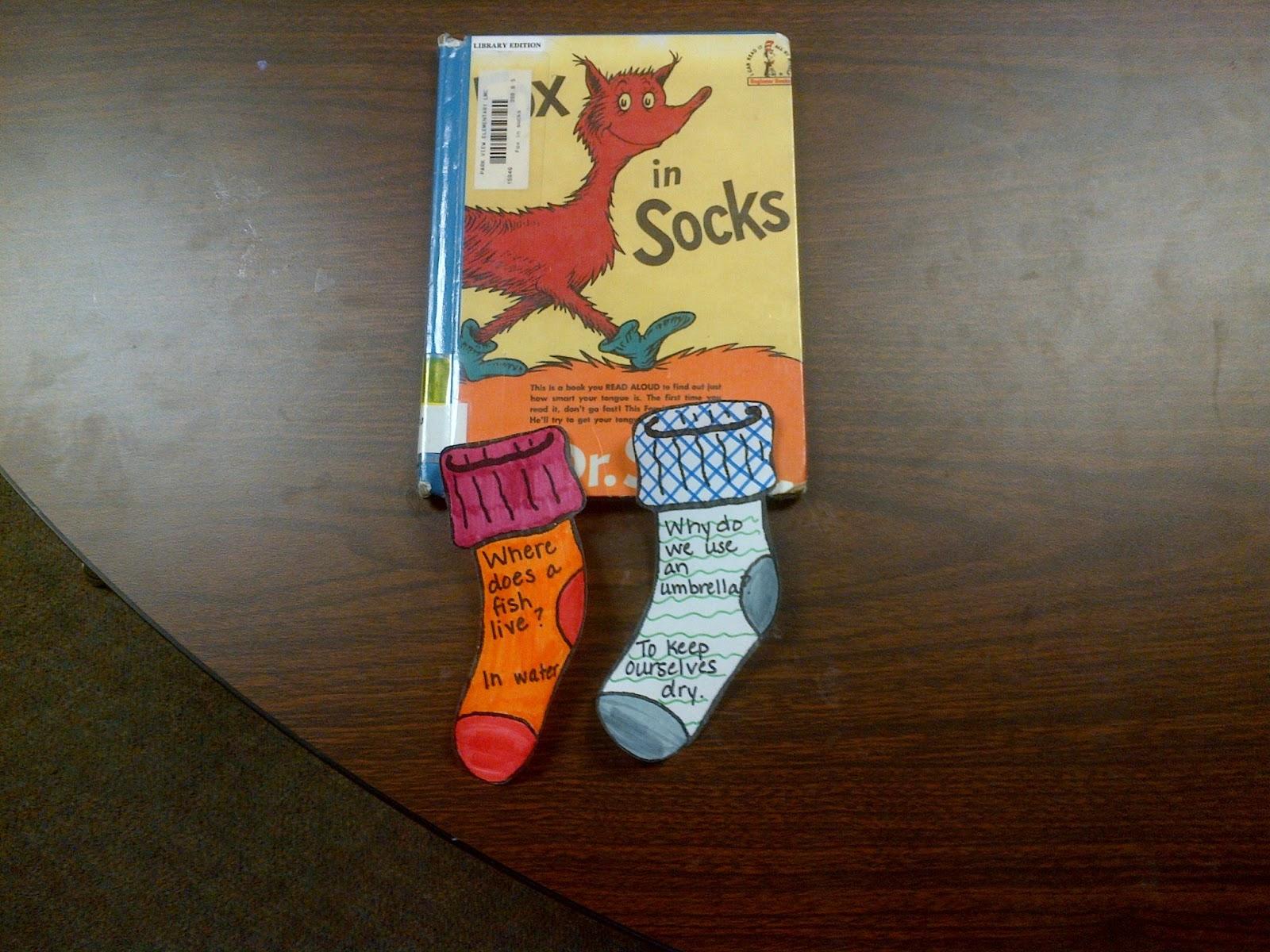 Fox In Socks Template
