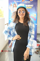 Actress Tejaswi Madivada Stills in Balck Long Dress at Babu Baga Busy Movie Interview  0023.jpg