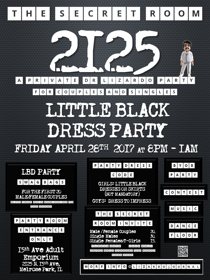 The Secret Room 2125: Little Black Dress Party
