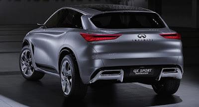 2018 Infiniti QX70 Exterior Concept