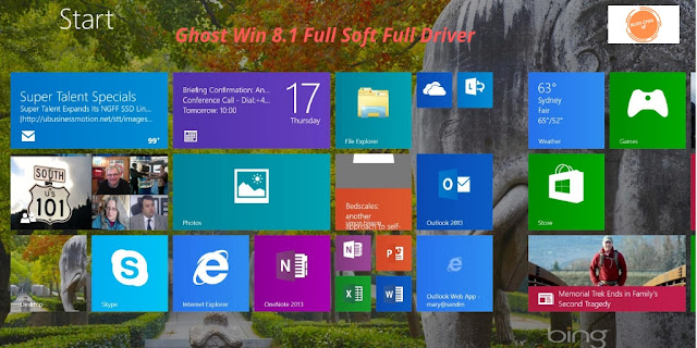 Download Ghost Win 8.1 Pro Full Soft Full Driver - Blog chia sẻ hay