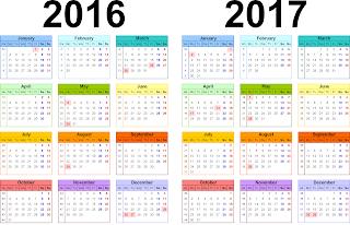 Free Printable Calendar 2017: Calendar 2017