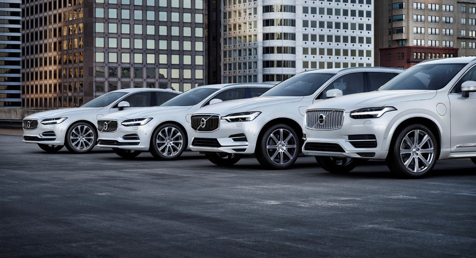 All Volvo models to become electrified from 2019