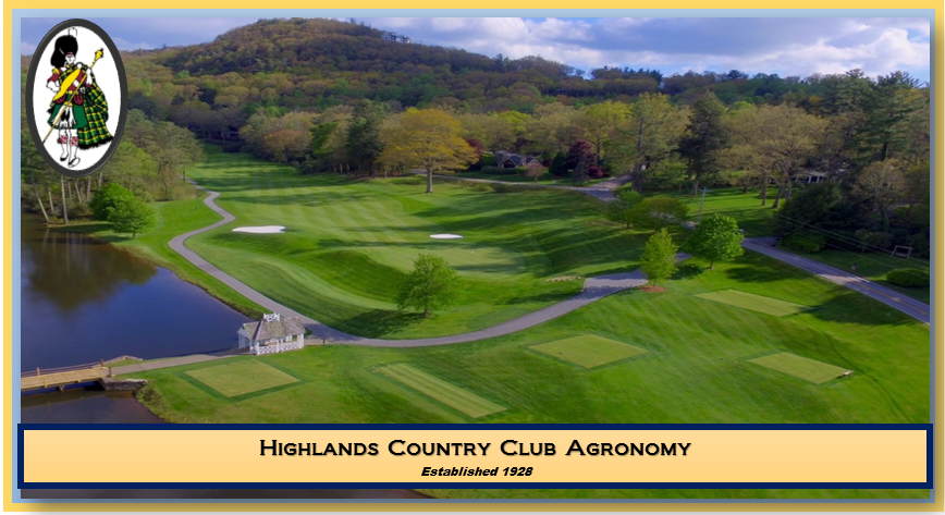 Highlands Country Club Agronomy