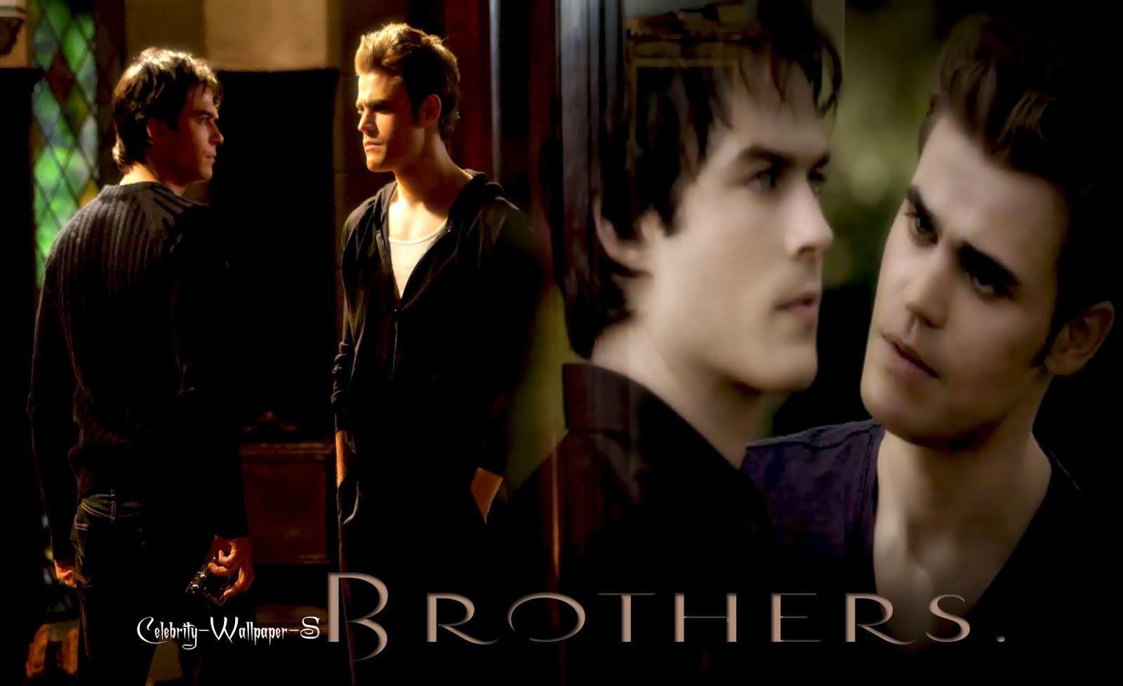 Stefan Damon The Vampire Diaries Wallpaper HD