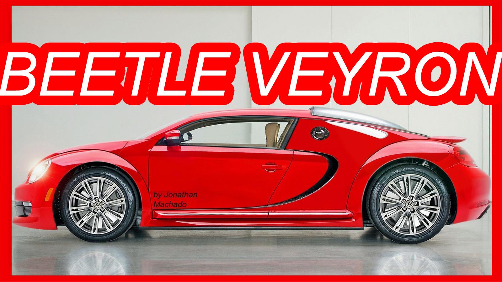 Photoshop Volkswagen Fusca Veyron Vw Bugatti Volkswagenfusca
