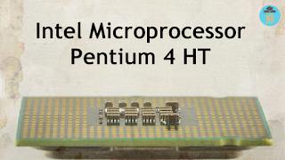 Intel microprocessor Pentium 4 HT 651 3.4 GHz - SL9KE (Cedar Mill)