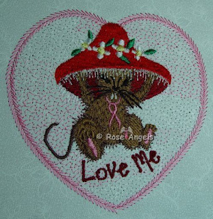 Valentine Mouse NONapplique 4x4
