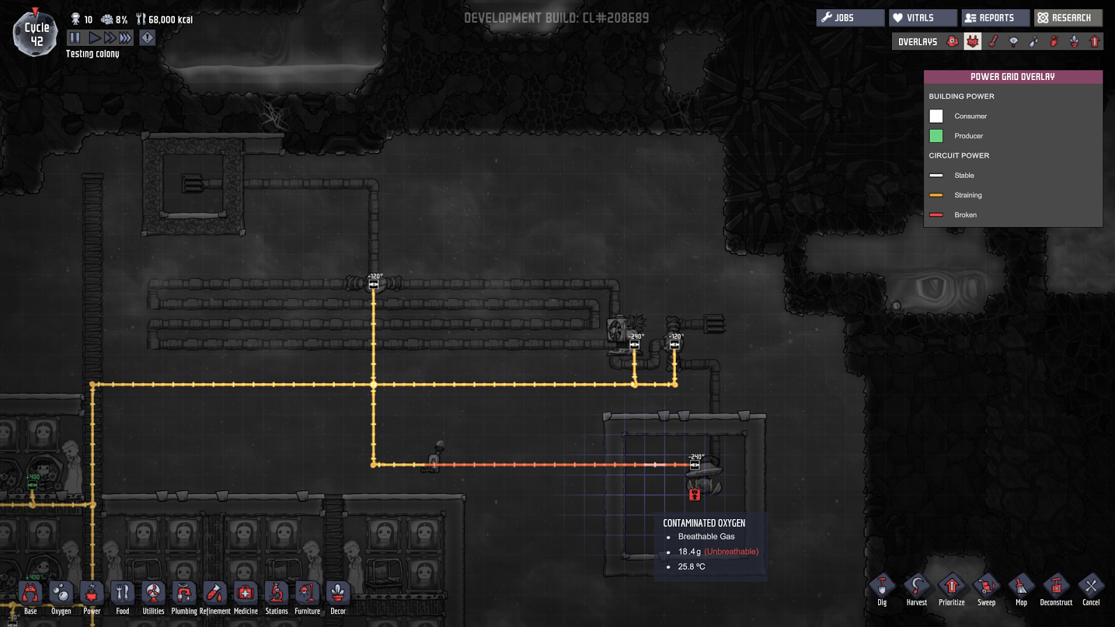 Oxygen Not Included FR: [Guide] Purifier l'oxygène contaminé en le