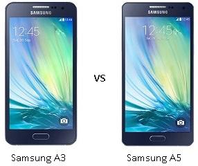 Harga dan Perbandingan Samsung A3 vs Samsung A5