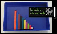 Ordonner les réglettes Cuisenaire (LaCatalane)