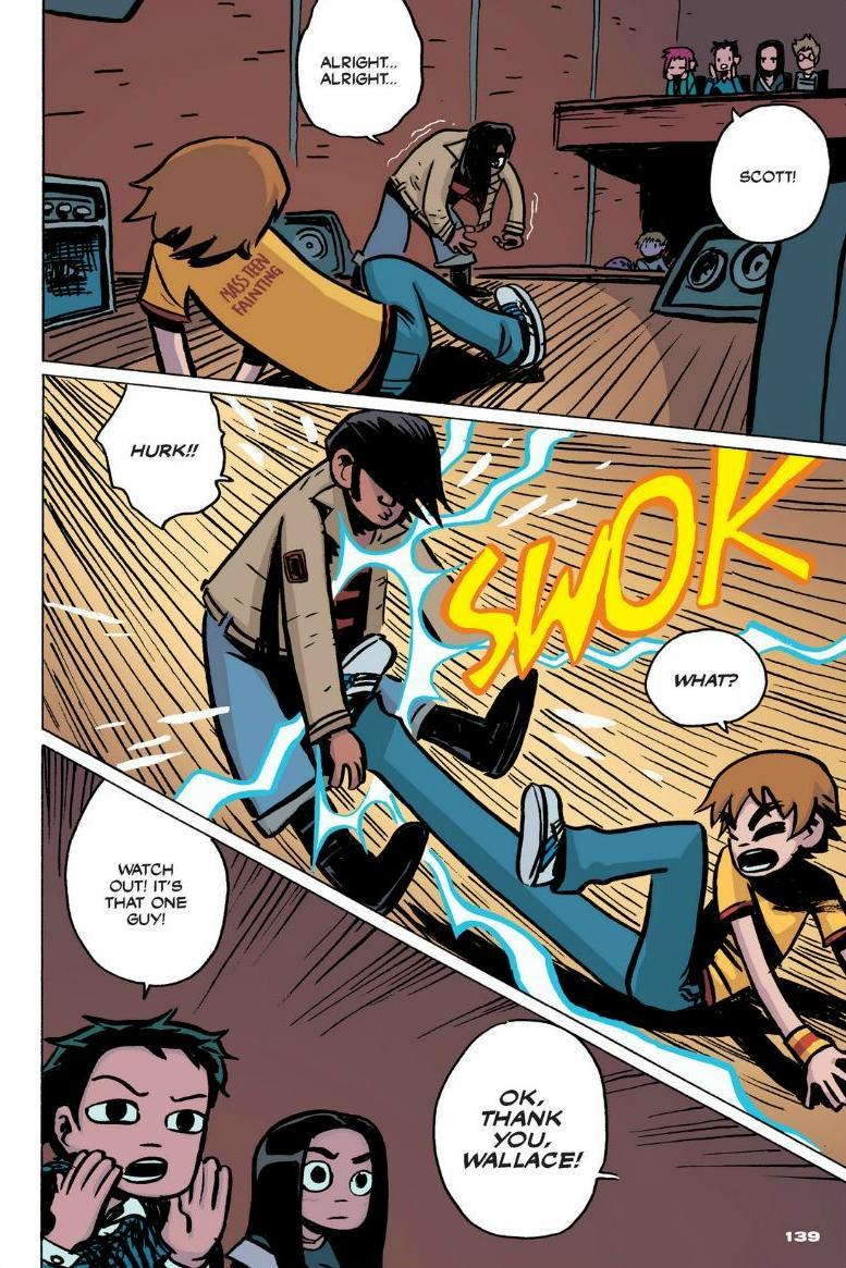 Read online Scott Pilgrim comic -  Issue #1 - 126