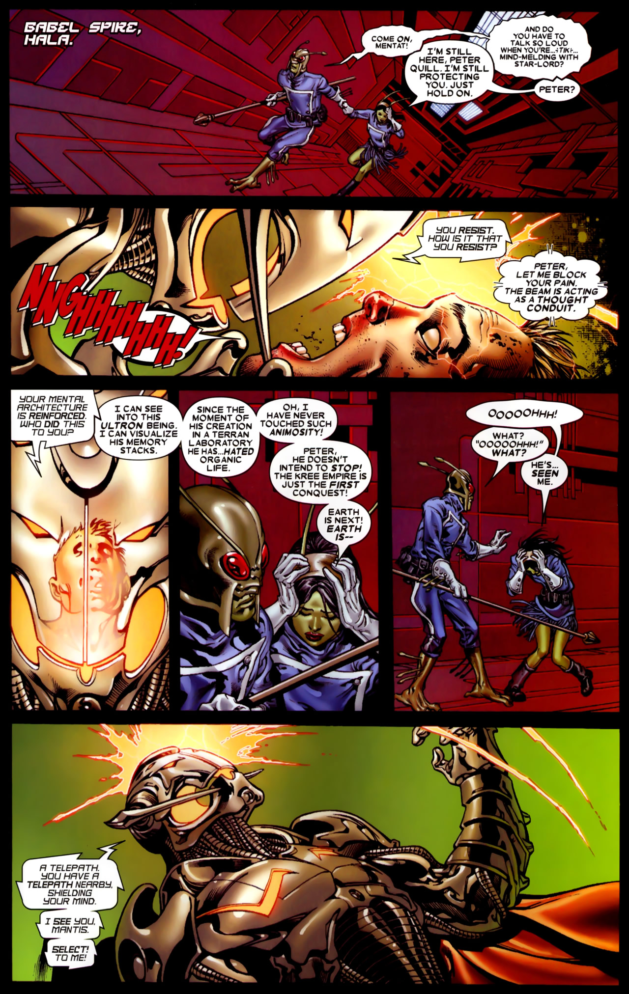 Read online Annihilation: Conquest comic -  Issue #4 - 17