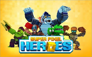 Free Download Super Pixel Heroes Apk
