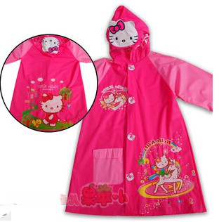 Gambar Jas Hujan Hello Kitty 2