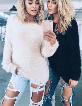 Women's Elegant Warm Sweater Pullover