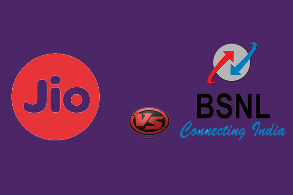 Reliance Jio vs. BSNL, Which one Better