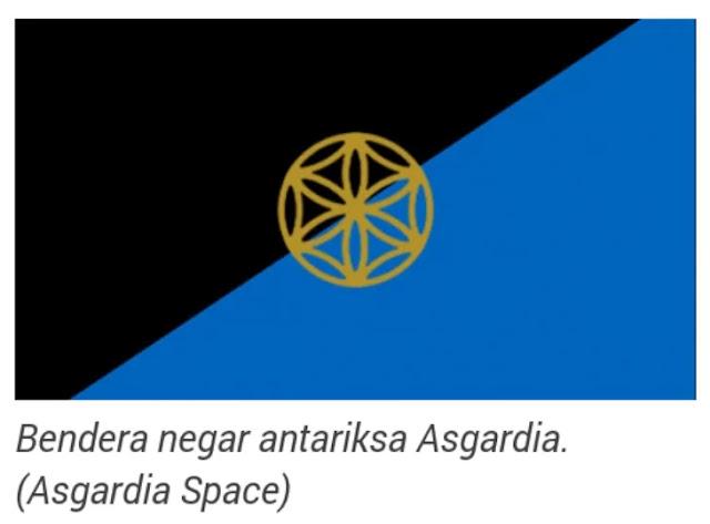cara daftar warga negara asgardia