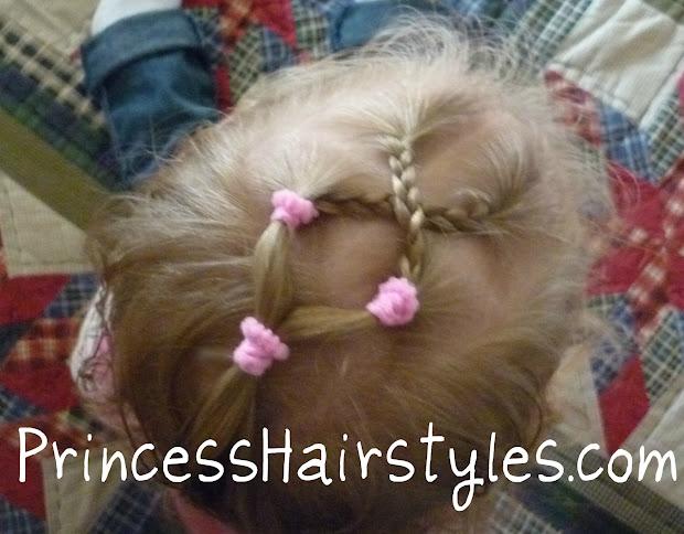 criss cross braids toddler hairstyles