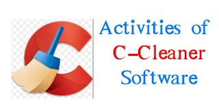 activities of cleaner in computer