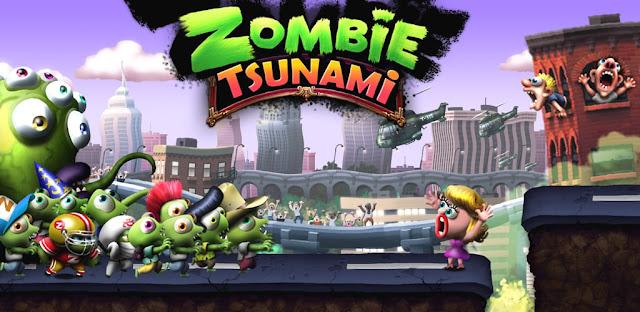 لعبة Zombie Tsunami