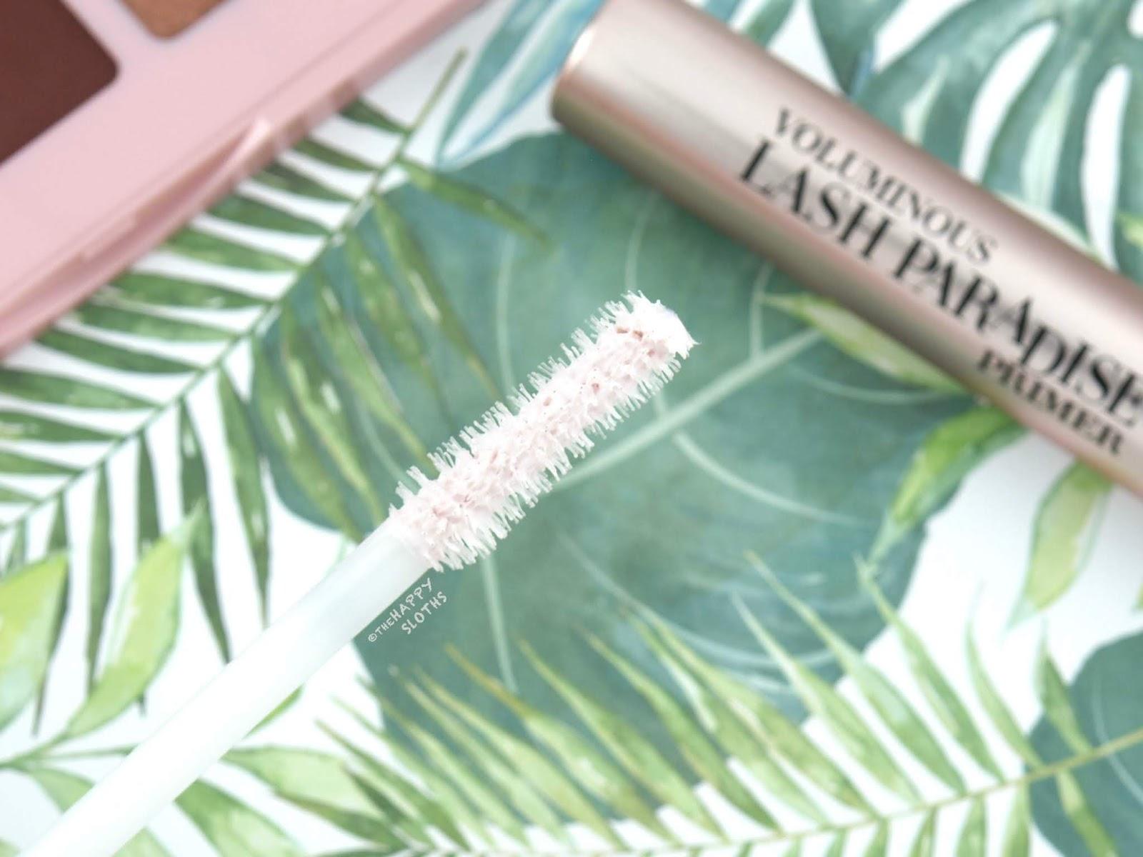L'Oreal | Voluminous Lash Paradise Mascara Primer: Review