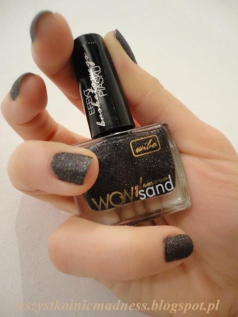 wibo wow glamour sand nr 4 na paznokciach