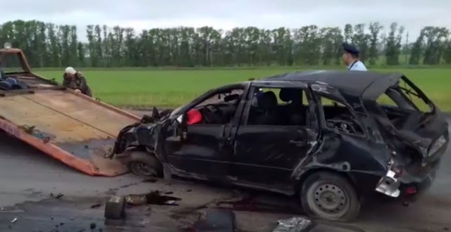 Утром на трассе М-7 в Кушнаренковском районе произошло ДТП с летальным исходом.