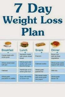 7 Dag dieet plan | Diere | Pinterest | Weight Loss, Diet and Weight loss  plans