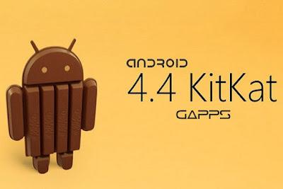 Download Gapps Kitkat 4.4.x Stock Small Pico
