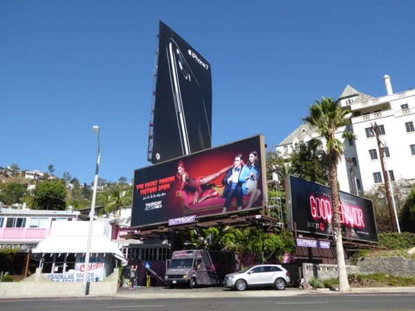 Rocky Horror Picture Show TV billboard