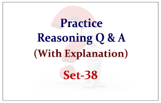 Practice Reasoning Questions (with explanation) for Upcoming IBPS Exams 2015 Set-38