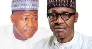 BREAKING: Buhari in private meeting with Dogara