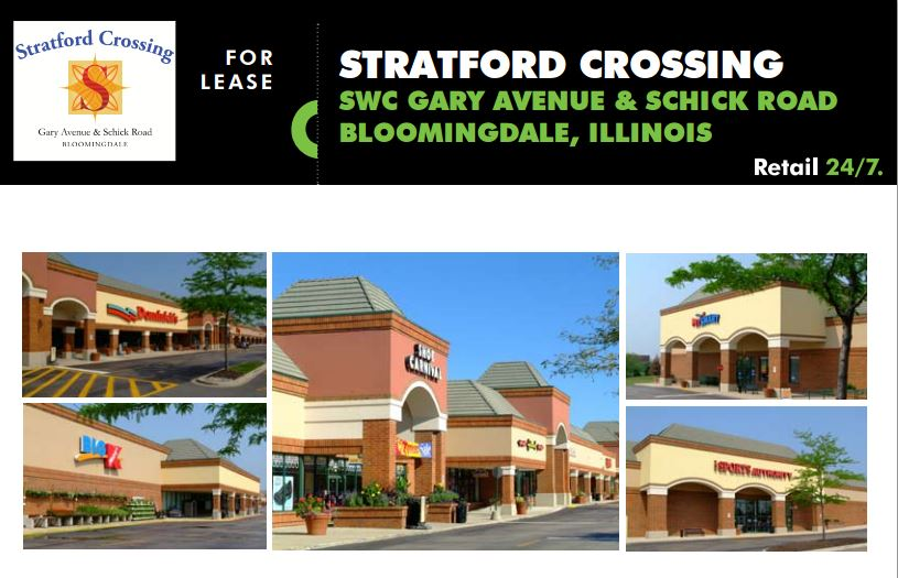 71e9e6ec5 Redevelopment: Stratford Crossing on and on- Bloomingdale, Illinois