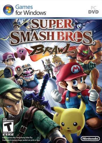 Super Smash Bros Brawl PC Full Descargar Español ISO DVD5 Emulado 2012