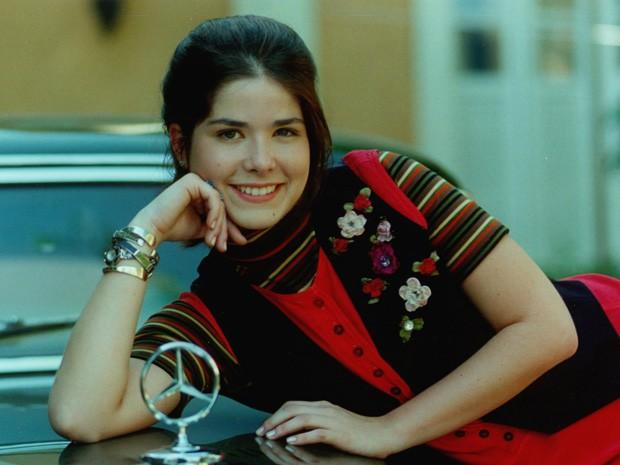 a71875902a Samara Felippo em 1997 aos 19 anos