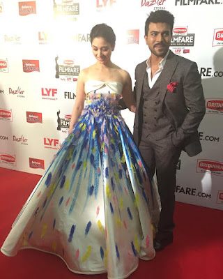 Tamanna Bhatia Attends Britannia Filmfare Awards 2016