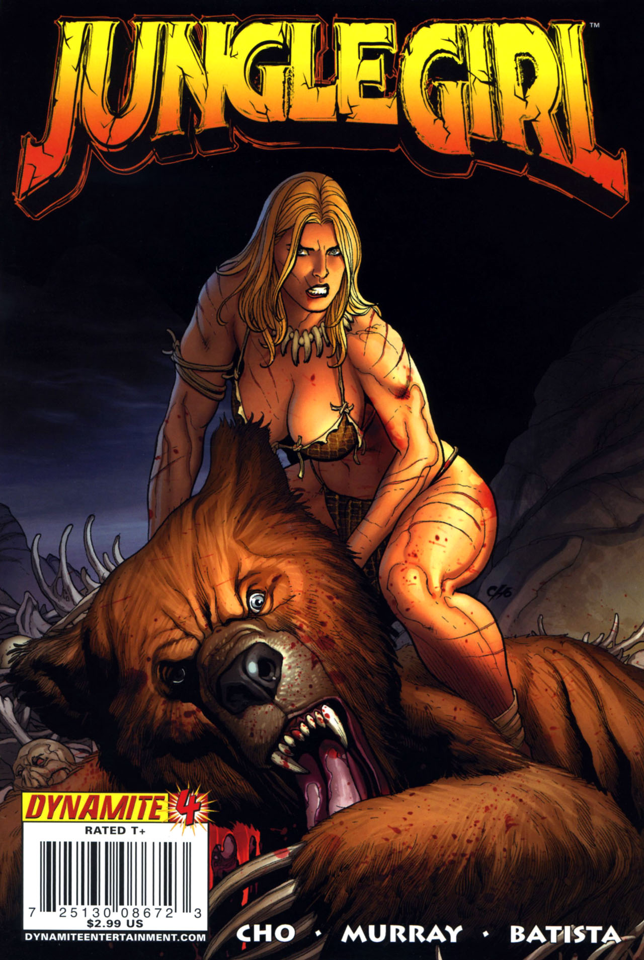 Read online Jungle Girl comic -  Issue #4 - 1