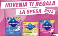 Logo Nuvenia ti regala la spesa 2018: ricevi buoni sconto da 5€