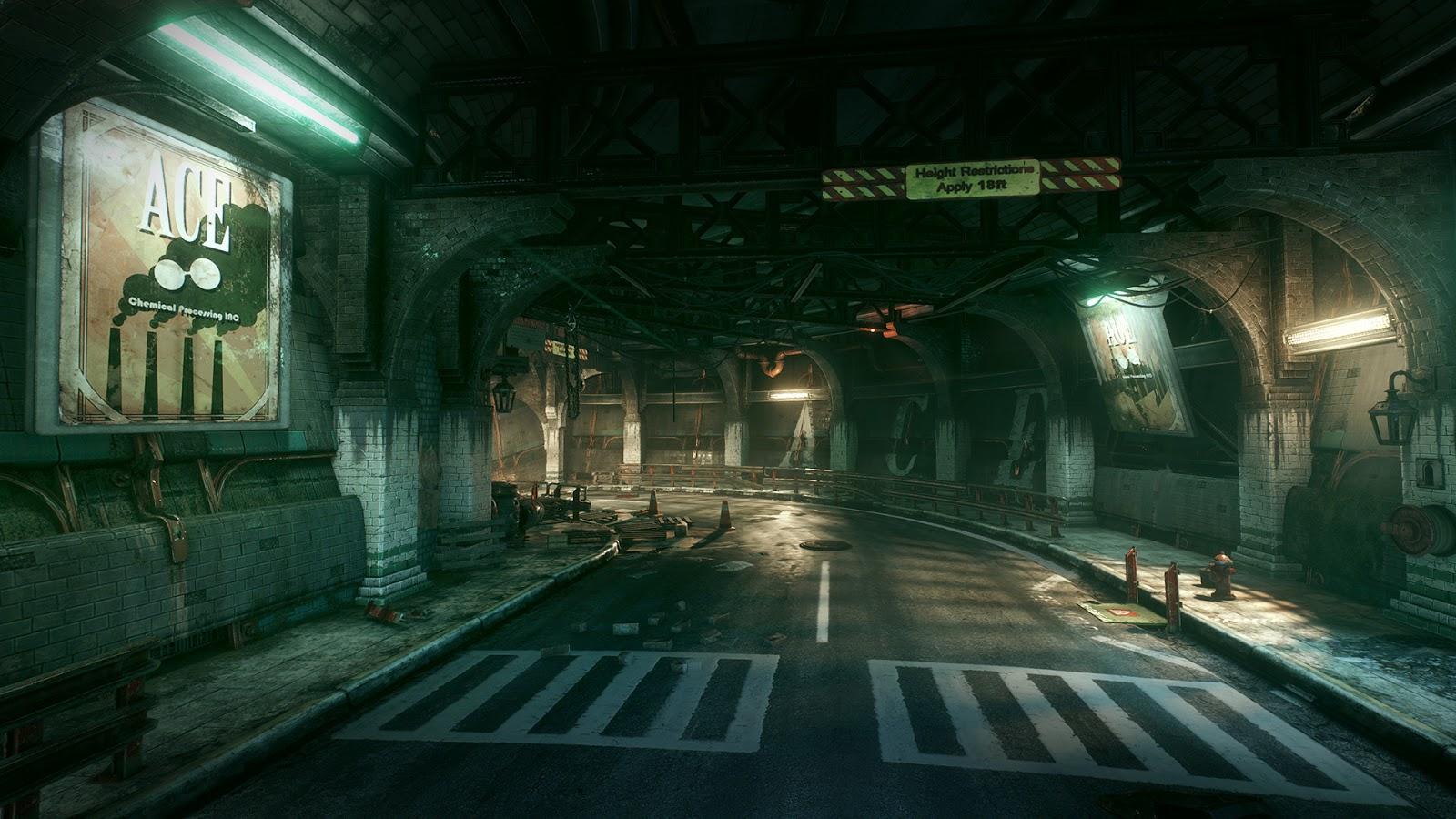 Batman Arkham Knight Environments in Unreal  CG Daily News