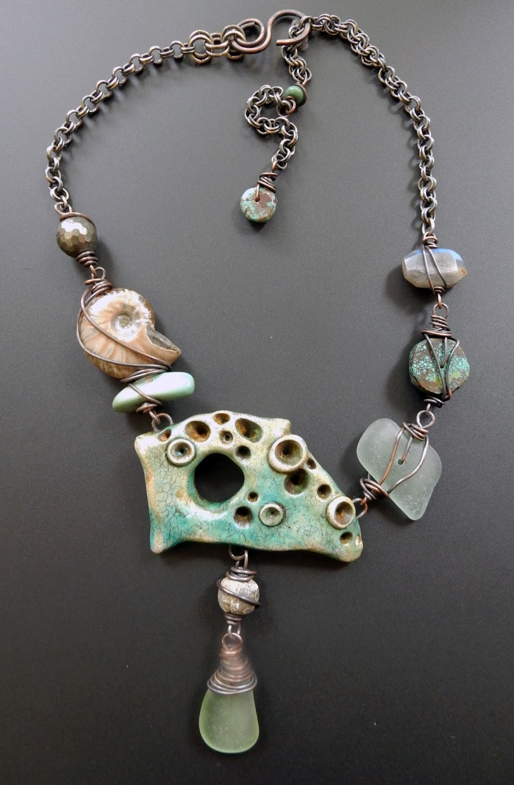 and jewelry my jewelry drilling sea glass stones fossils 5390