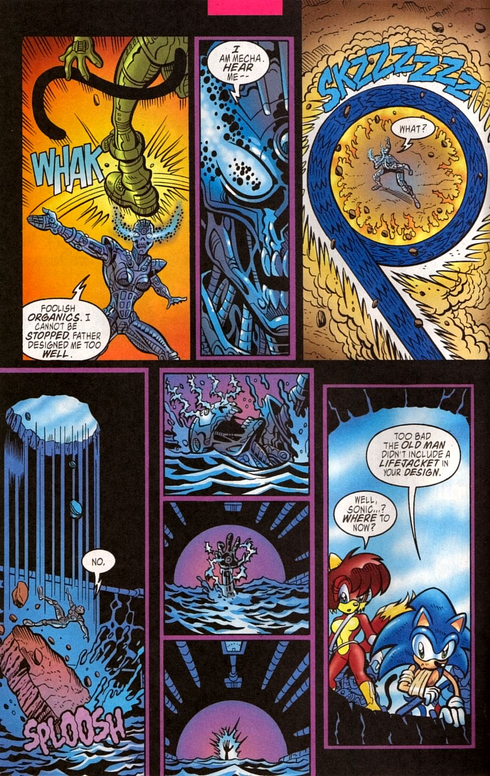 Read online Sonic The Hedgehog comic -  Issue #133 - 22