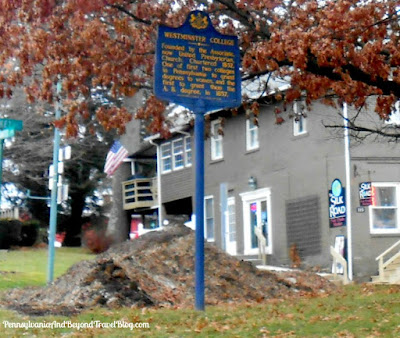 Westminster College in New Wilmington Pennsylvania - Historical Marker