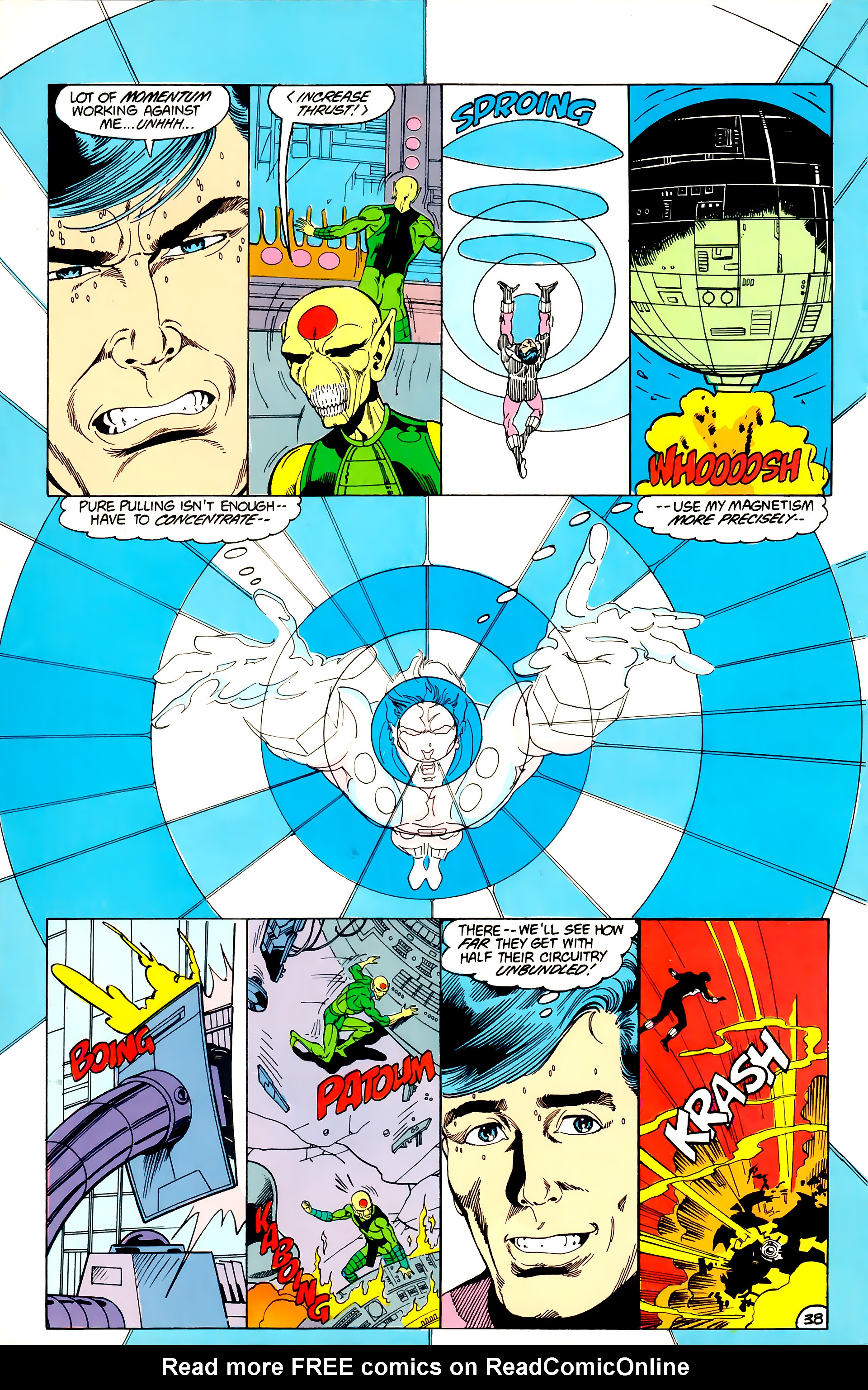 Legion of Super-Heroes (1984) _Annual_3 Page 38